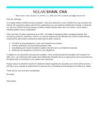 edit nurse aide cover letter