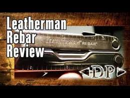Обзор <b>мультитула</b> Leatherman <b>Rebar</b> - YouTube