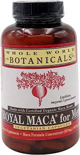 Whole World Botanicals, <b>Royal Maca for</b> Men, 500 mg, 180 ...