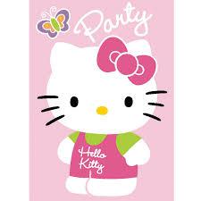 wonderous hello kitty party invitations birthday party gorgeous hello kitty party ticket invitations