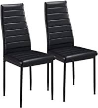 Faux Leather - Dining Chairs / Dining Room ... - Amazon.co.uk
