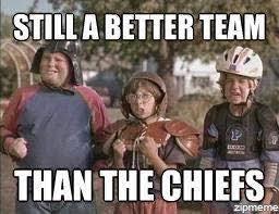 22 Meme Internet: still a better team than the chiefs ... via Relatably.com