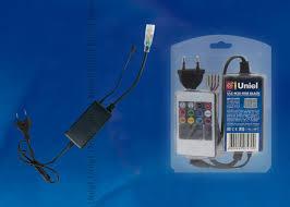 <b>ULC</b>-<b>N20</b>-<b>RGB BLACK Контроллер</b> с пультом ДУ для управления ...