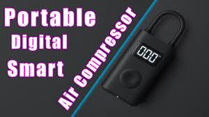 <b>Xiaomi</b> Portable Digital Smart Air Compressor // Tire Inflator // Pump ...