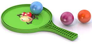 """Игровой <b>набор Нордпласт №68</b> """"ракетка и 3 шарика"""": с ..."""