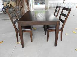 Solid Wood Dining Room Table Real Wood Dining Room Sets Home Interior Design Ideas