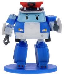 Robocar Poli Мини-<b>фигурка</b> цвет синий