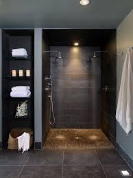 tile shower ceiling ideas waplag 15 bathroom design color shelves mat grey floor light towel hanger ample shower lighting