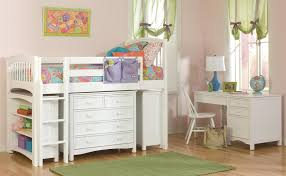best kids bedroom decorating ideas with white bunk beds which has astounding small mahogany loft in astounding ikea desk chair decorating