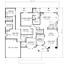 2511 square feet 6 bedrooms 3 batrooms 2 parking space on 1 bedroom house plans