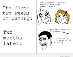 Funny dating evolution explained in a rage comic - image #1453055 ... via Relatably.com