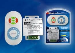 <b>Контроллер ULC</b>-<b>R22</b>-<b>DIM white</b> для управления яркостью <b>Uniel</b>