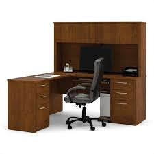 beautiful l shaped office desk with hutch for home iof17 awesome shaped office desk