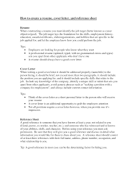how to create a resume cover letter and reference sheet eager world annamua