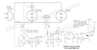 ac relay power switch circuit on simple circuit diagram electrical outlets