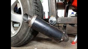 Homemade <b>Exhaust MUFFLER Motorcycle</b> For 5$ <b>Motorcycle</b> ...