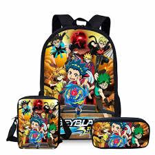 <b>ThiKin</b> 3Pcs <b>Beyblade</b> Burst 2019 School Bags Set for Kids Boys ...
