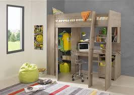 timber kids loft bunk beds with desk closet gautier gami furniture bunk beds kids loft
