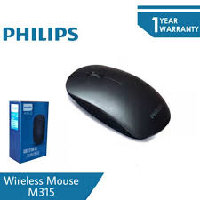 <b>PHILIPS M315 Wireless</b> Mouse 2.4GHz 1200dpi | Shopee Malaysia