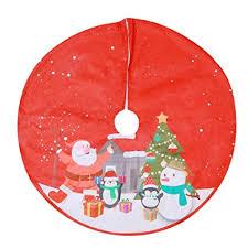 Witspace Long hair <b>Non</b>-<b>woven Christmas Tree Skirt</b> Ornament ...