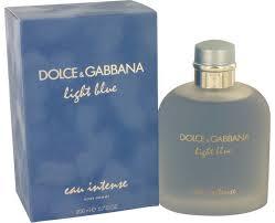 <b>Light Blue</b> Eau <b>Intense</b> Cologne by <b>Dolce & Gabbana</b>