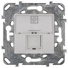<b>Розетка компьютерная</b> встраиваемая <b>Schneider Electric</b> Unica ...
