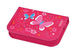 <b>Пенал</b> школьный <b>Herlitz Girls</b> Mix I Butterfly 50014156-бабочки