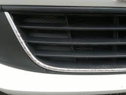 Нижняя <b>решетка радиатора</b> (хром) — Volkswagen Polo Sedan ...