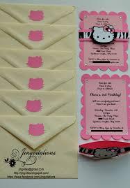 hello kitty safari invitations jingvitations image