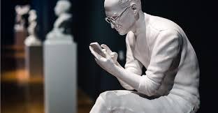 Sebastian ErraZuriz's 3D printed sculptures frame tech moguls in ...