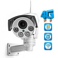<b>1080P 960P 3G 4G</b> SIM Card Camera Wifi Outdoor PTZ HD Camera ...