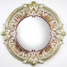 """25"""" X 25"""" Metal Framed Decorative <b>Wall</b> Vanity Accent <b>Mirror</b> ..."""