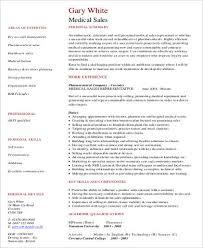 medical sales resume pdf sample healthcare sales resume