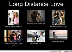 Long distance on Pinterest | Long Distance Relationships, Long ... via Relatably.com