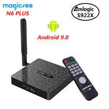 <b>Magicsee N6 PLUS</b> Amlogic S922X Smart <b>Android</b> 9.0 TV Box 4GB ...
