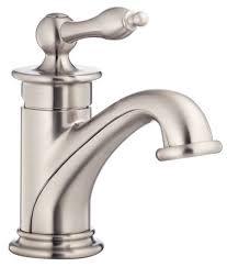 satin nickel bathroom faucets: brushed nickel  danze prince single handle bathroom faucet d brushed nickel lg