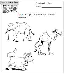 Phonics Worksheets for Kindergarten | Edu-Resource.comKindergarten Phonics Worksheets