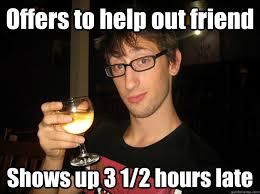 Broder Punctual memes | quickmeme via Relatably.com