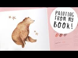 Painting a Cute <b>Bear</b> in <b>Watercolour</b> - And Some NEWS! - YouTube