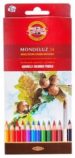 <b>KOH</b>-I-<b>NOOR Карандаши</b> акварельные <b>Mondeluz</b>, 24 цвета ...