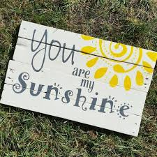 wood sign glass decor wooden kitchen wall: you are my sunshine sign wall art pallet signs home decor wood sign nursery decor kid room yellow song quote wall art