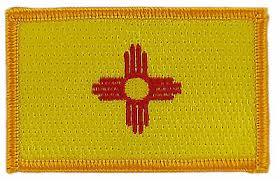 embroidered usa new mexico flag patches army badge patch 3d tactical military fabric cloth armband national american