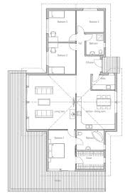 Ideas vaulted ceiling house plansSmall house plan   four bedrooms and high vaulted ceiling in the living room  master