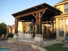 standing covered patio designs ideas design