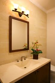 bathroom light fixtures with three lamps ideas and brown mirror ideas bathroom lighting ideas bathroom