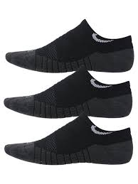 Nike Dry <b>Cushion No</b>-Show Black <b>Kids</b> Socks - Tennis Warehouse ...