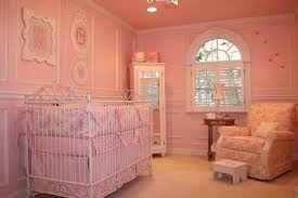 endearing baby girls nursery ideas white wooden crib pink stunning boy wrought iron floral pattern bedroom endearing rod iron