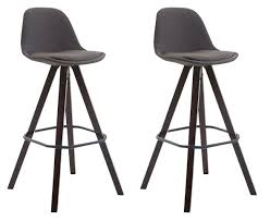 <b>2</b> X <b>Bar Stools</b> Comfortable Height Seat Trendy <b>Bar Chairs Bar Stool</b> ...