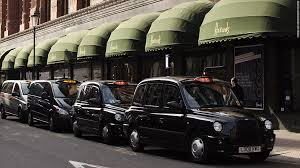 Image result for black taxi cab london