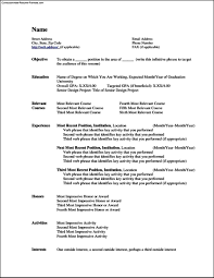 resume curriculumvitae resume templates · resume template word